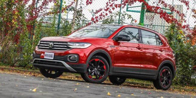 Turned Volkswagen T-Cross on sale in China