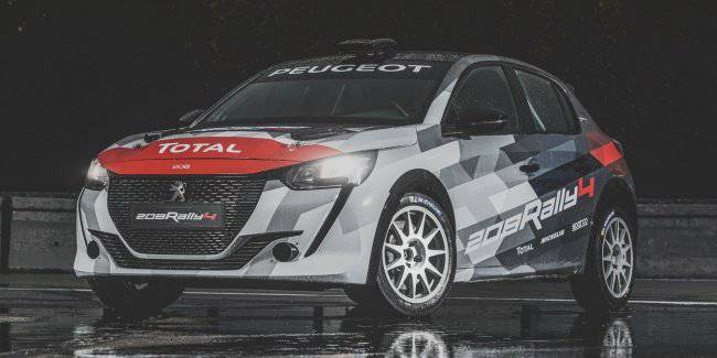 New Peugeot 208 Rally 4 will appear next year