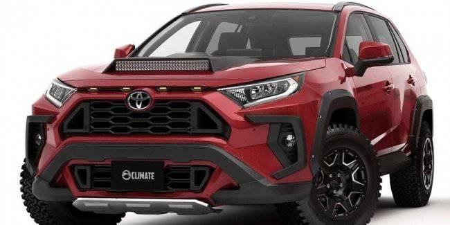 The most aggressive tuning for the new Toyota RAV4