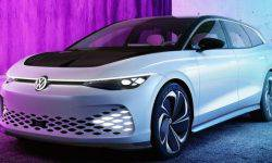 Volkswagen has unveiled the electric universal ID Space Concept Vizzion