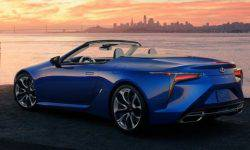 The Lexus was the luxury convertible