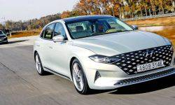Hyundai brought to market a new business sedan Grandeur