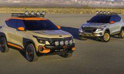 KIA has prepared a crossover Seltos to heavy off road