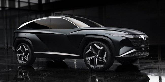 Crossover Hyundai Vision T: so will the new Tucson?
