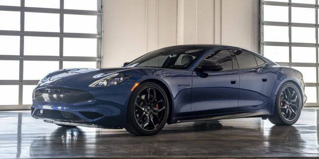 In the United States debuted hybrid Karma sedan Revero GTS