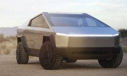 Tesla introduced its first electric pickup truck