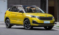 In China started selling the coupe-crossover Skoda Kamiq GT