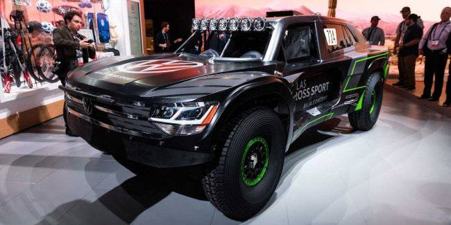 Extreme SUV Atlas Cross Sport R showed in Los Angeles