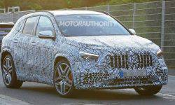 New Mercedes-Benz GLA increased in size and will get a new 1.3-liter turbo