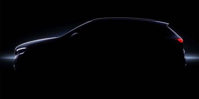 Mercedes showed the silhouette of the GLA crossover new generation
