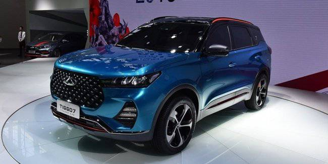 New Chery Tiggo 7 introduced in China