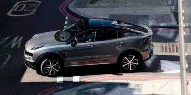 The new coupe-crossover LynkCo will be developed on the platform of the Volvo