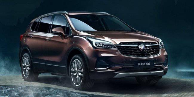 Popular crossover Buick updated: still two motors and a different exterior design