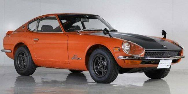 In the USA the auction to sell one of the most expensive Nissan in history