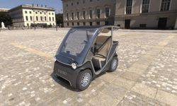 Squad Mobility introduced the most affordable electric car on solar batteries