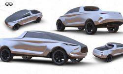 Infiniti introduced a concept version of the truck Quick-X