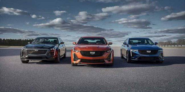 The official prices of the Cadillac CT5-V CT4-V 2020