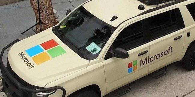 Microsoft has provided a vehicle for military