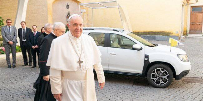 New car Pope became Renault Duster