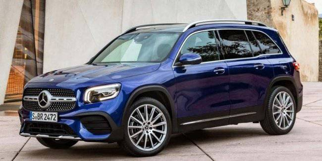 Presented updated crossover Mercedes-Benz GLB