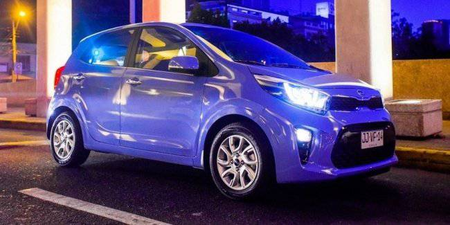 KIA Picanto modest update