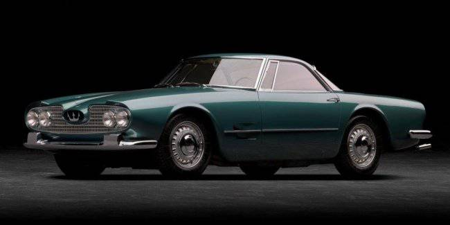 Maserati celebrates the 60th anniversary release of 5000 GT Coupe 2 + 2 and its presentation at the motor show in Turin