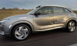 Crossover Hyundai Nexo has set a record run on hydrogen