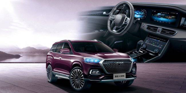 Chery started selling large crossover Jetour X95