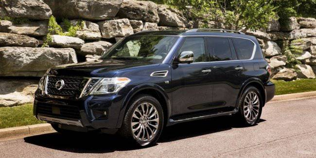 Became known information about the new Nissan Armada SUV