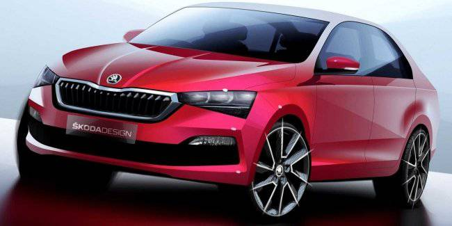 In the network appeared the first photos of the new Skoda Rapid generation