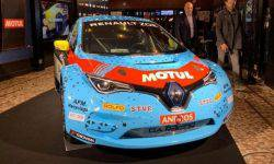 The Renault Zoe has received two electric motors and 335 HP