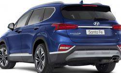 The refreshed Hyundai Santa Fe will get a 3.5-liter V6