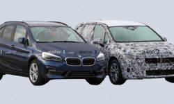 In a Network there were photos of the updated interior of the BMW 2 series Active Tourer