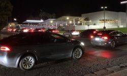 In the U.S. the charging stations Tesla, there was a huge queue