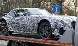 The first photos of the Wiesmann sports car with BMW motor leaked online