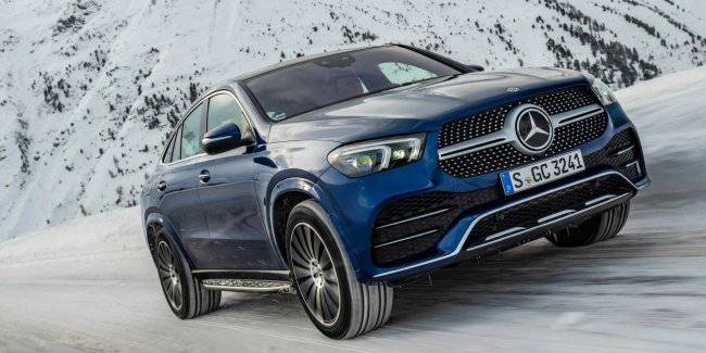 1 liter of fuel per 100 km Mercedes-Benz GLE Coupe got a new economical modification