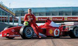 Ferrari F2002 No. 219 Michael Schumacher was sold for a substantial sum