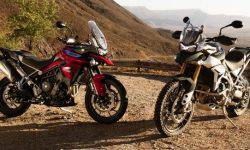 Showed new curandero Triumph Tiger 900 2020