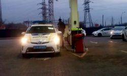 In Nikolaev 17 patrol cars out of service after refueling
