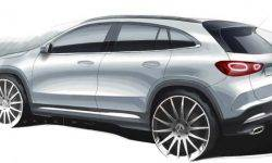 Declassified the design of the new Mercedes-Benz GLA