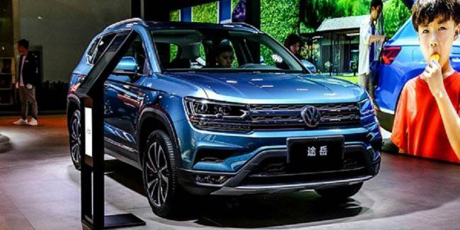 Volkswagen announced the start of sales of crossover VW Tharu Plus