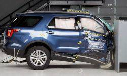 Crash-test helped to find the most dangerous place in the cabin of the Ford Explorer