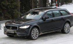 Volvo is testing a hybrid version of the V90 and S90 models