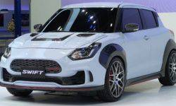 "Suzuki Swift ""dressed up"" extreme body kit"