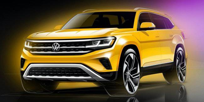 Volkswagen introduced an updated Atlas