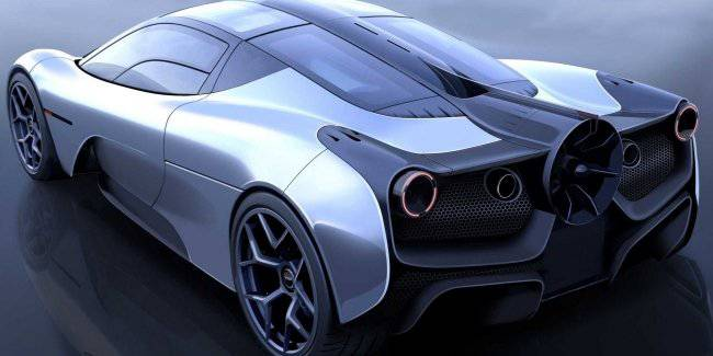 The Creator of the McLaren F1 has shown a new supercar with a fan