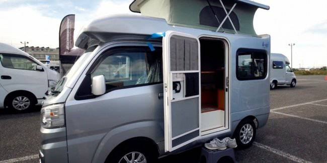 Japan brought the smallest house on wheels