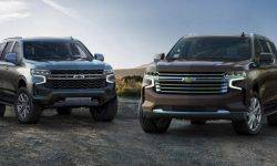 Chevrolet introduced the new Tahoe and Suburban