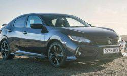 The updated Honda Civic received a new version of Sport Line
