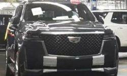 The Network leaked the first pictures of the new Cadillac Escalade